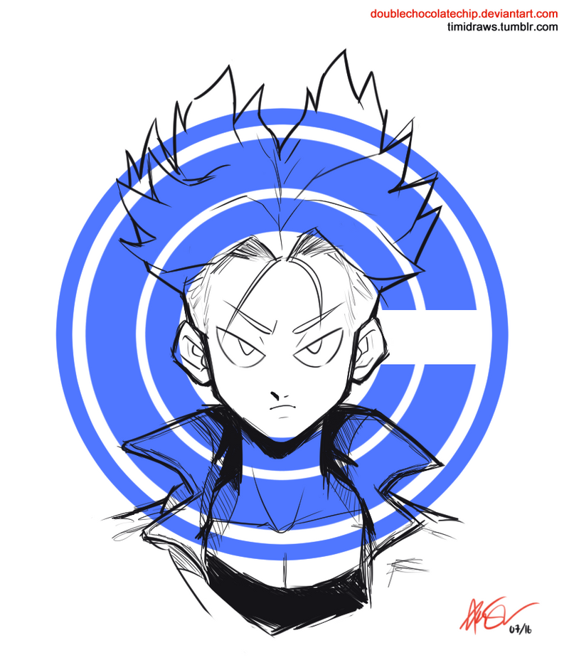 future trunks. by DoubleChocolateChip