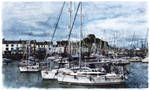 Ilfracombe Harbour II by JamesYoungArt