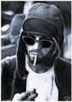 Kurt Cobain '93 by JamesYoungArt
