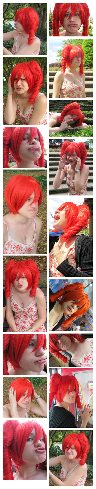 The Many Lovely Faces of Teto by darkgothcrowgirl