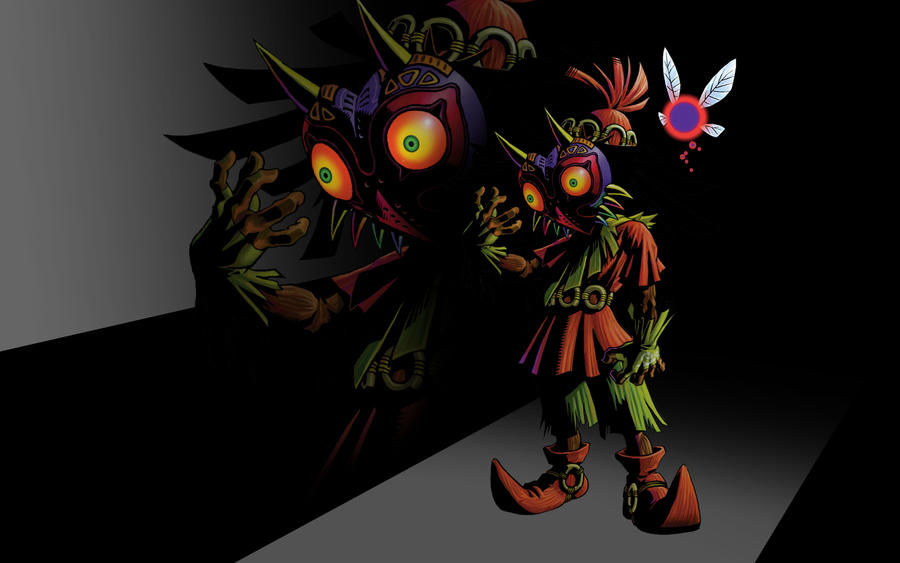 Skull Kid And Tael By CorduroyCHUCK