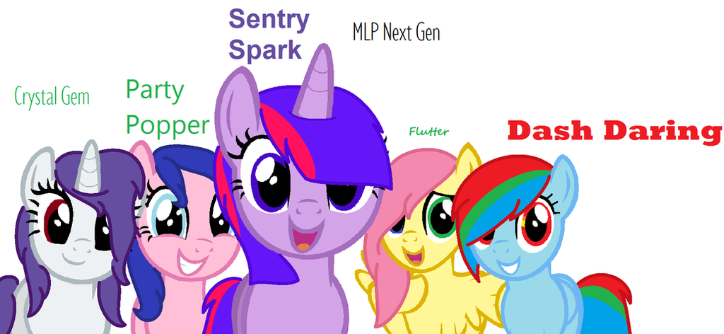 PonyBases173 // MLP Next Gen (NOT A BASE) by PonyBases173