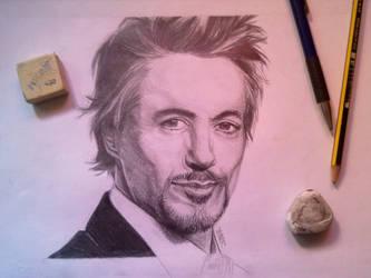 Robert Downey Jr by DeathNolita