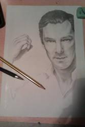 Benedict Cumberbatch by DeathNolita