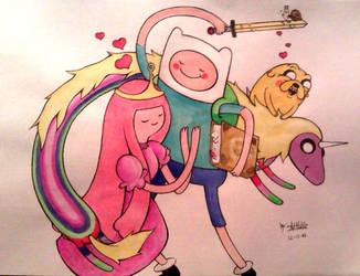 Adventure Time love by DeathNolita