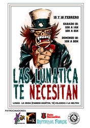 Commission 'Jornadas Lunaticas' by DeathNolita