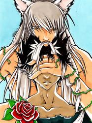 Kurama y Hiei by DeathNolita