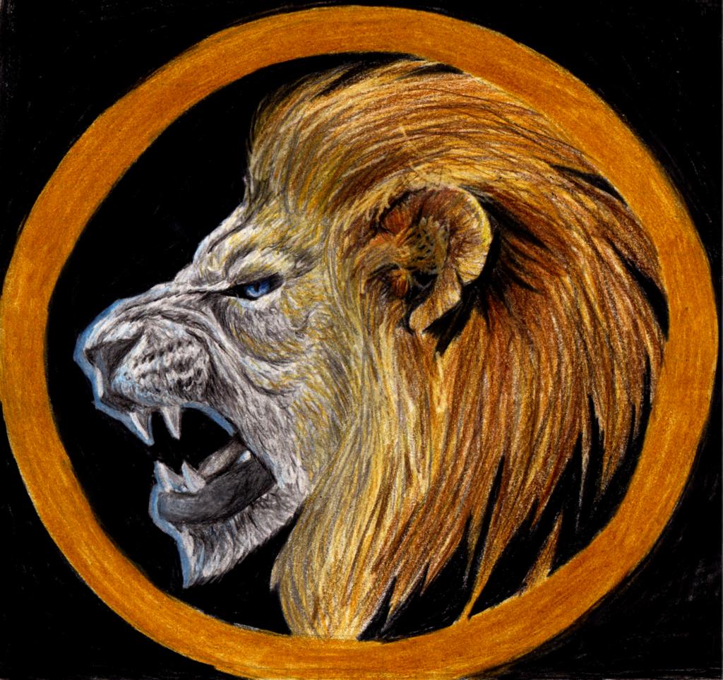 Syndicate Lion Logo By Chaos Walking59