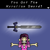 Hyrulian Sword Optained by KeitoMan