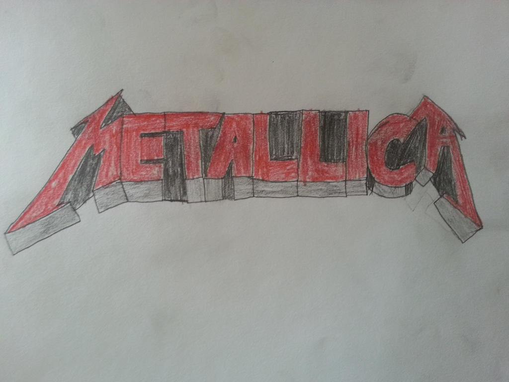 Metallica logo by Stickman34