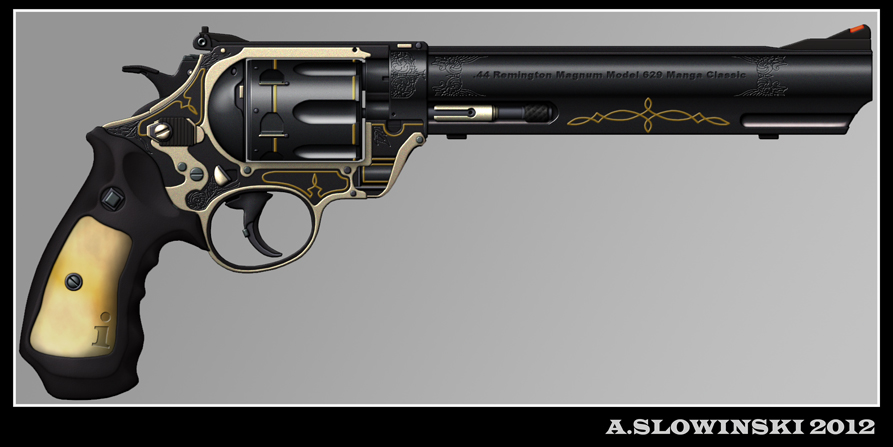 Future Revolver 629 manga classic revolver