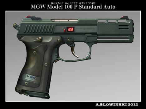 MGW Model 100 P Standard Auto Pistol
