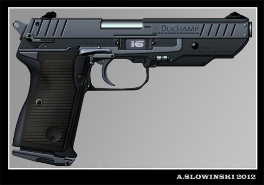 saturn machine pistol