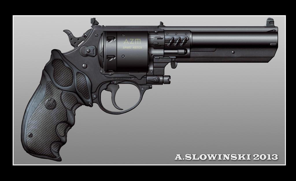 Future Revolver Azm sport match revolver by