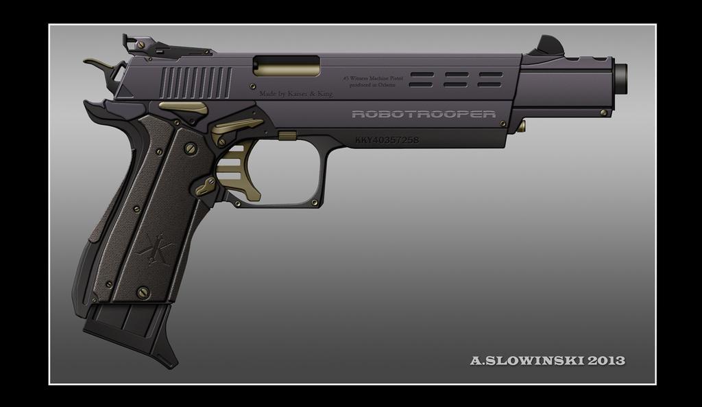 Futuristic Machine Pistol | www.pixshark.com - Images ...