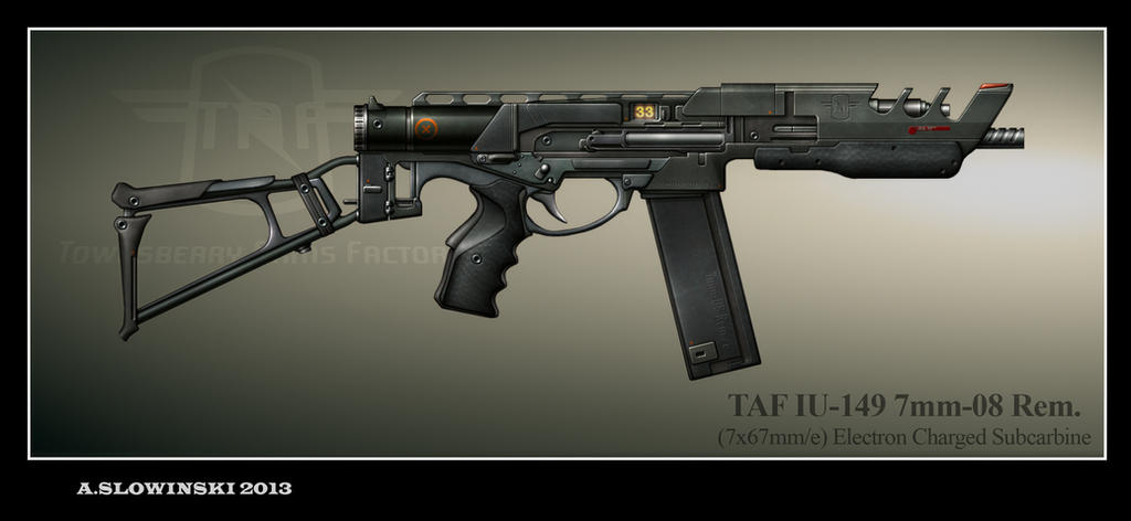 TAF IU-149 Subcarbine by BlackDonner