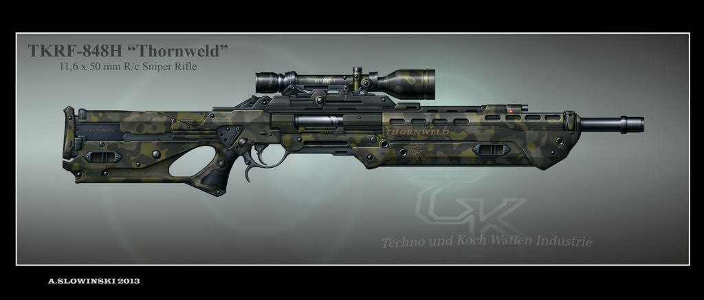 Futuristic Sniper 573813868