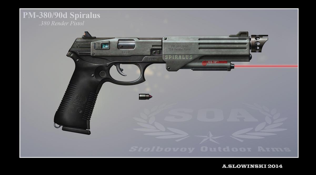 PM-380 90d Spiralus by BlackDonner