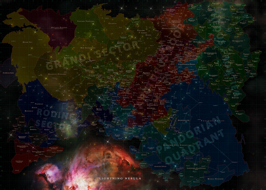 Verge Map 2052 by BlackDonner