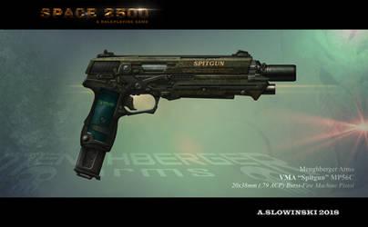 VMA Spitgun MP56C by BlackDonner