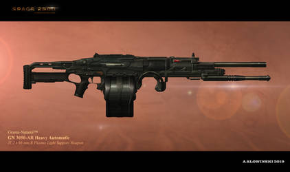 GN 3050-AR Heavy Automatic by BlackDonner