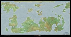 Gelarden World Map