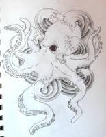 octopus tattoo by zioman