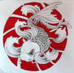 koi fish tattoo 02