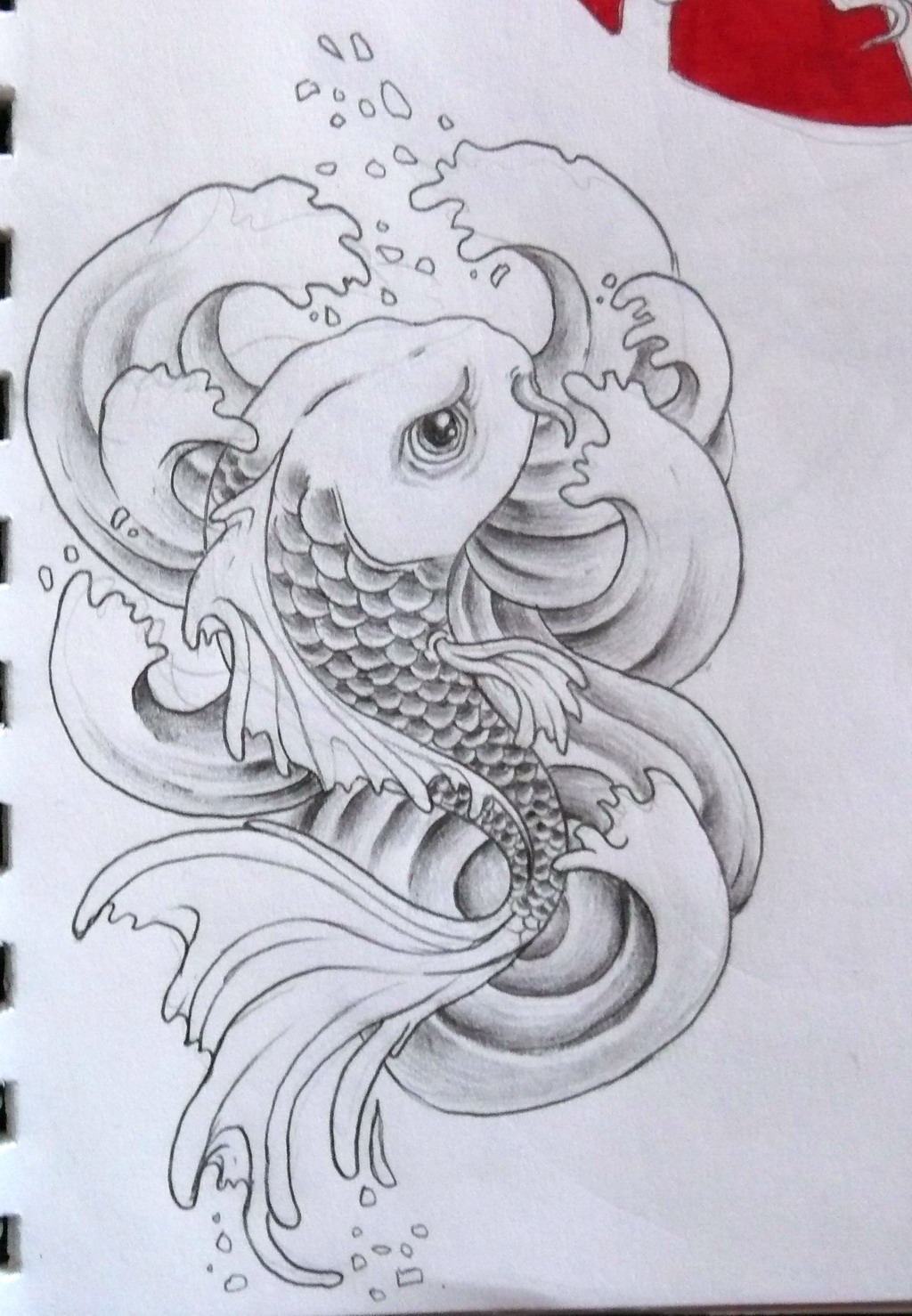 Эскизы тату рыбы