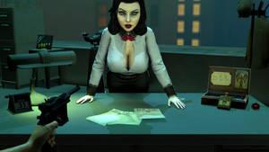 Bioshock - SFM - Elizabeth - wrong dimension