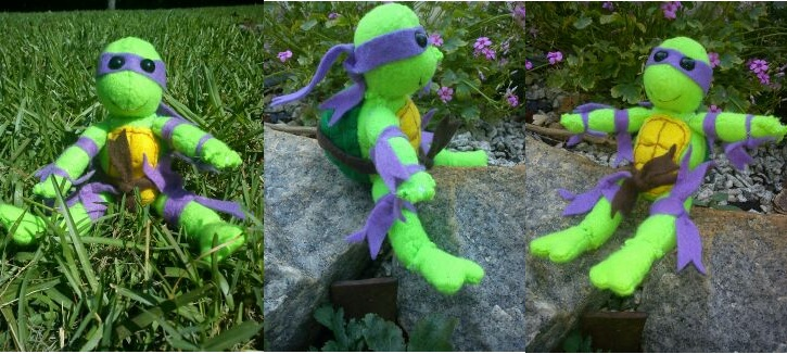 Donatello TMNT Plush by Winstopian