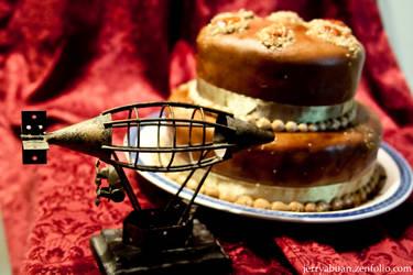 zepplin and cake