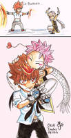 Tsuna and Natsu chibies