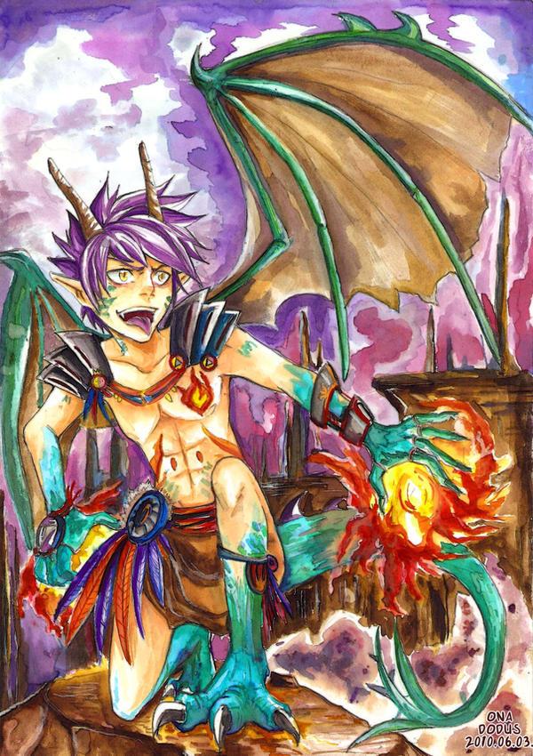 Dragon boy by dodus taichou on deviantart - Anime boy dragon ...