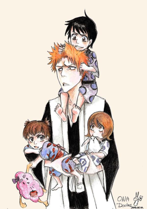 The gallery for --> Ichigo And Rukia Children