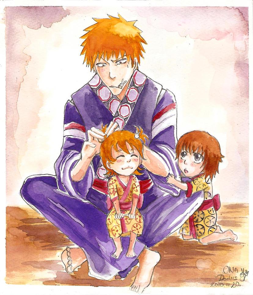 Dad's little princesses by Dodus-Taichou