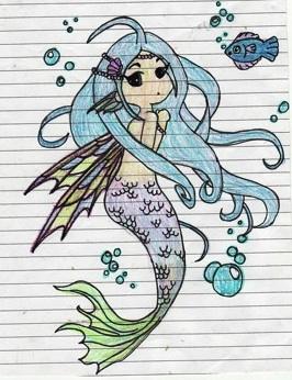 mermaid by glindagoo