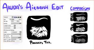 my painttool SAI airbrush by stellified