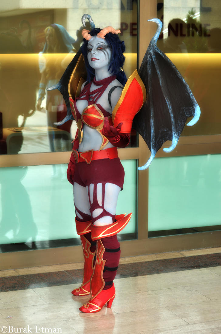 queen of pain cosplay ti4 - photo #17