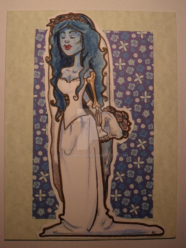 Card: Corpse Bride by vilijntje
