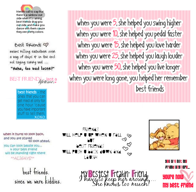 Best Quotes Ever About Friendship Entrancing Best Friend Quotes Go On_Frozenvoice On Deviantart