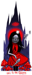 Crimson Queen Alice by Dizza36