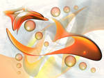 Flowing Shapes by spellbound