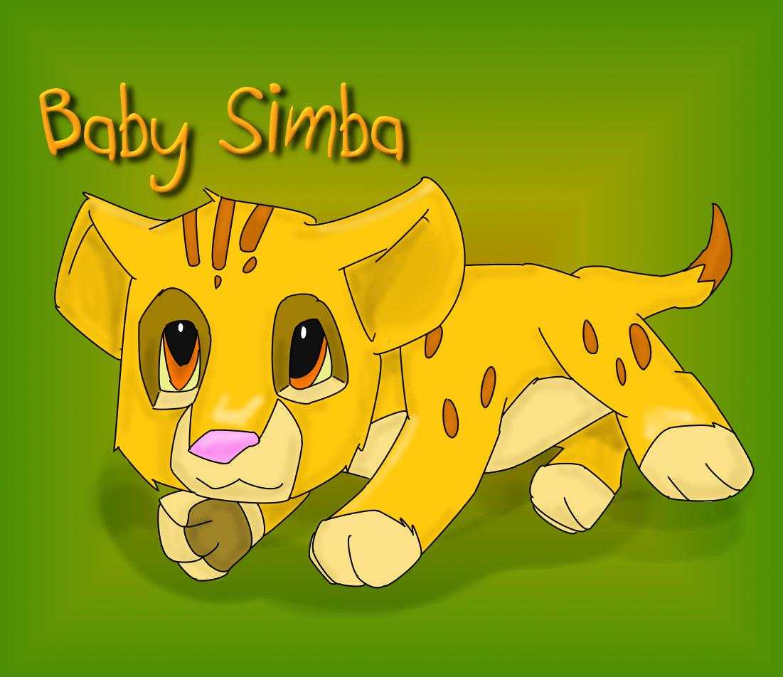 Baby Simba by MsLunarUmbreon on DeviantArt