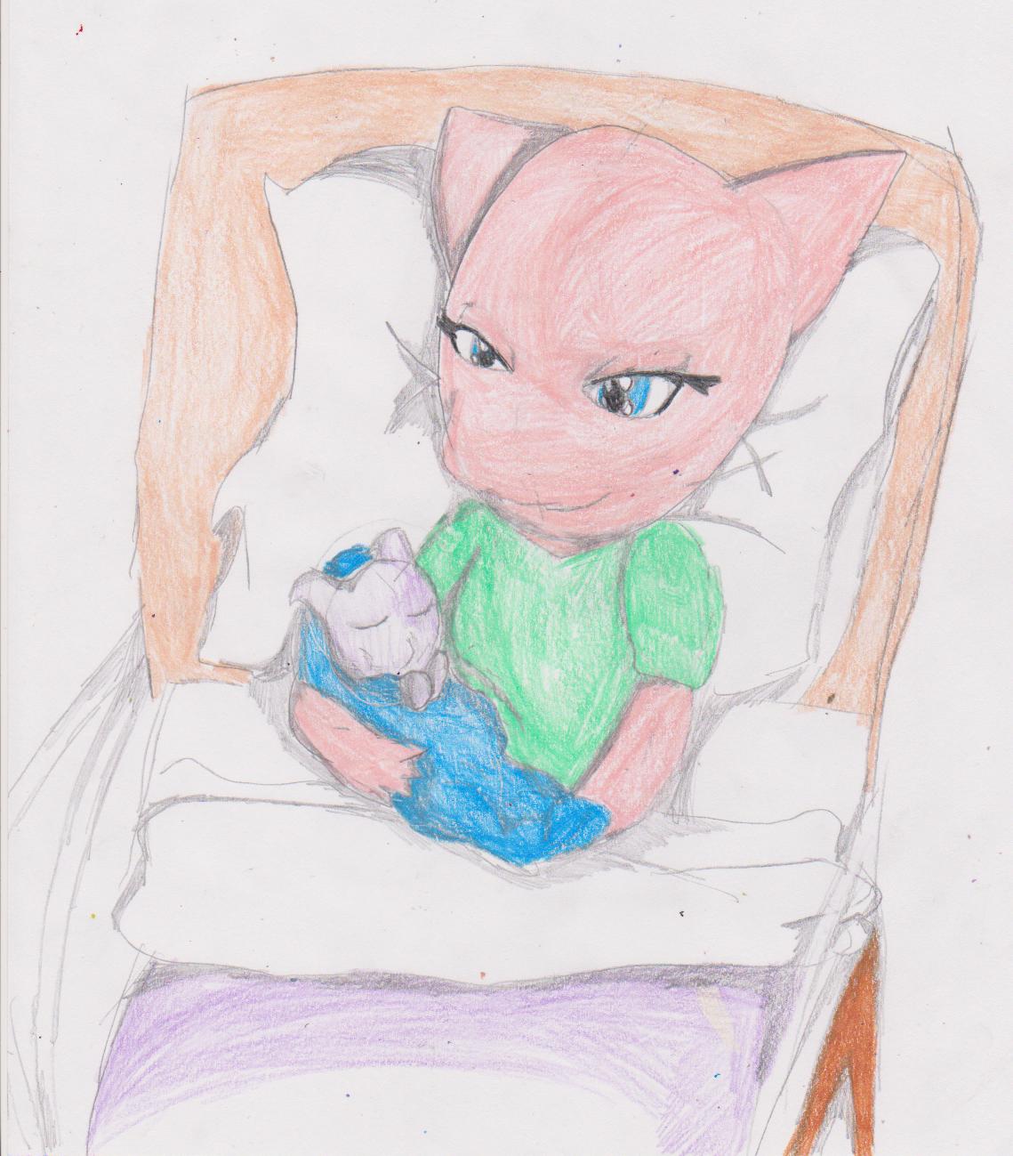 Febuary 6th: Mew Gave Birth by MsLunarUmbreon on DeviantArt