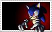 Possessed Sonic Stamp by MsLunarUmbreon
