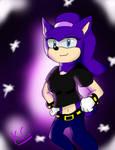 Nebula the Hedgehog Gift by MsLunarUmbreon
