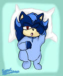 Shadelyn the Hedgehog (Sonadow Daughter) by MsLunarUmbreon