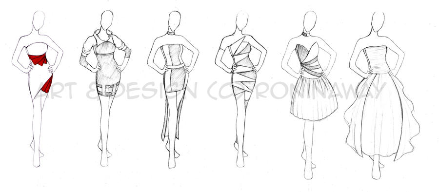 clothing designs by roninaway on deviantart