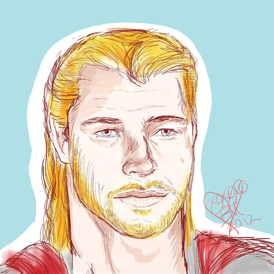 Thor by CubbiLovesYou22
